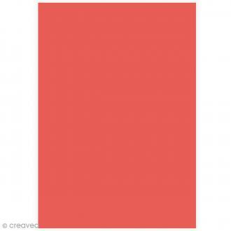 Papier Grain de Pollen A4 - Coquelicot - 5 feuilles