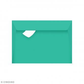 Enveloppe Grain de Pollen - Turquoise - 114 x 162 mm - 5 pcs