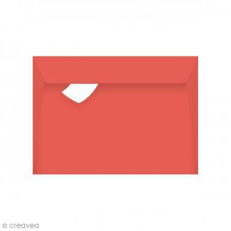 Enveloppe Grain de Pollen - Coquelicot - 114 x 162 mm - 5 pcs