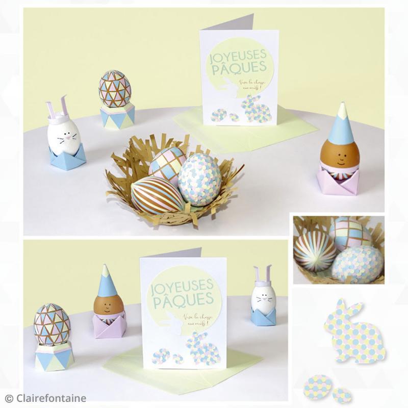 Carte Grain de Pollen - 19 coloris - 105 x 148 mm - 5 pcs - Photo n°6