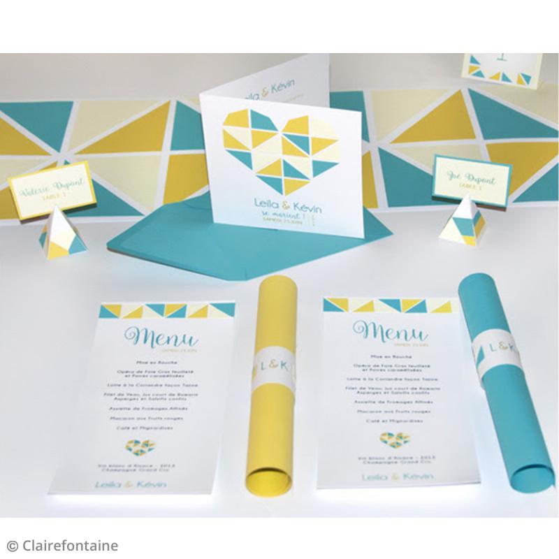 Enveloppe Grain de Pollen - 19 coloris - 140 x 140 mm - 5 pcs - Photo n°4