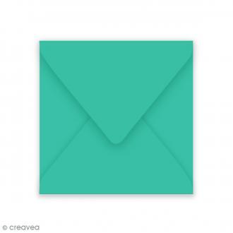 Enveloppe Grain de Pollen - Turquoise - 140 x 140 mm - 5 pcs