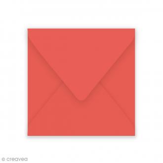 Enveloppe Grain de Pollen - Coquelicot - 140 x 140 mm - 5 pcs
