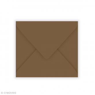 Enveloppe Pollen - Cacao - 125 x 138 mm - 20 pcs
