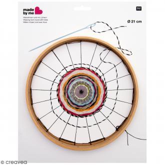 Métier à tisser Rond avec trous - Diamètre 21 cm