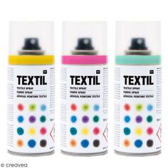 Peintures en aérosol pour tissus - 150 ml