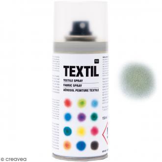 Peinture en bombe pour tissus - Argenté - 150 ml