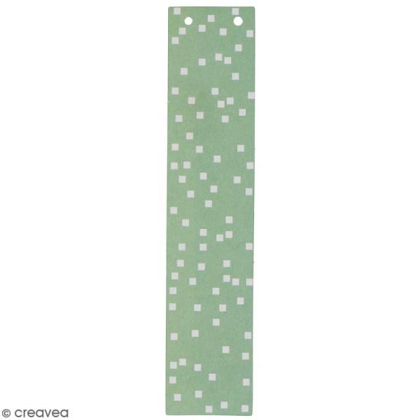 Lettre en papier pour guirlande - I - Multicolore - Photo n°1