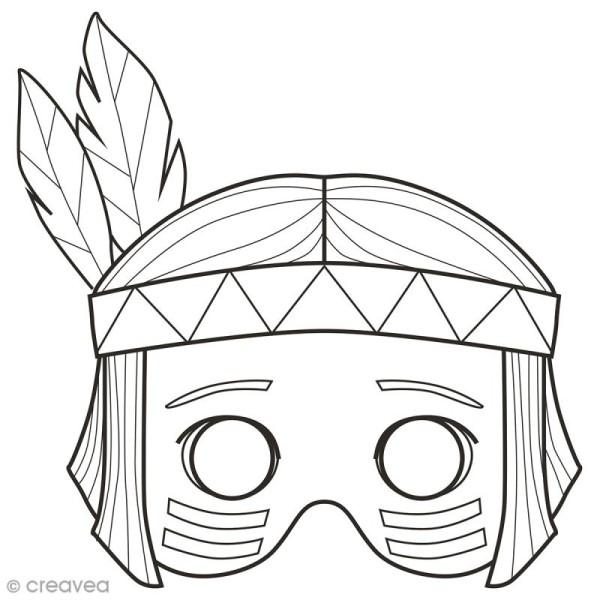 Masques à Colorier Et Découper Garçon 24 Pages