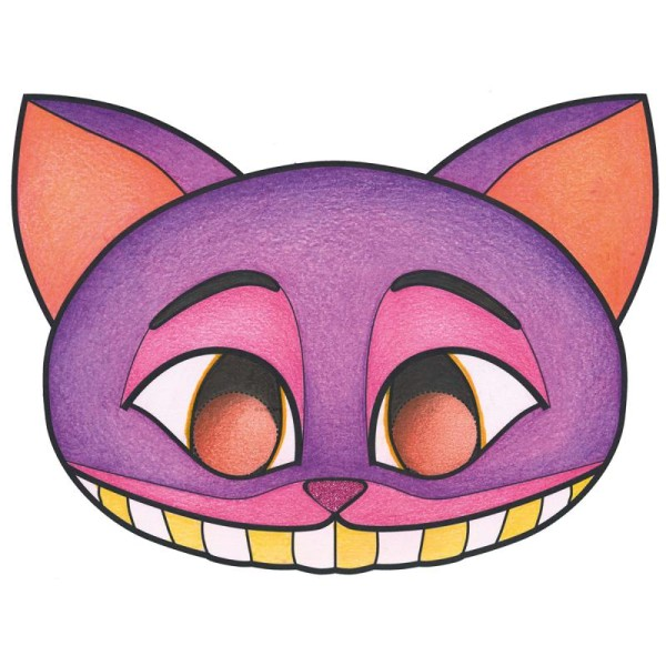 Masques à colorier et découper - Halloween - 24 pages - Photo n°4
