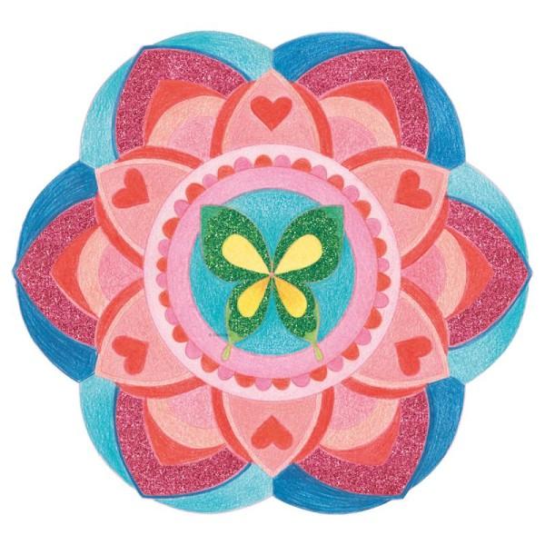 Cahier de Coloriage Graffy pop Mandala - Filles - 36 pages - Photo n°3