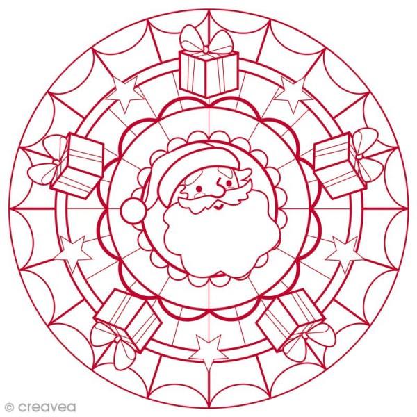 Bloc à colorier Graffy pop Mandala - Noël - 36 pages - Photo n°2