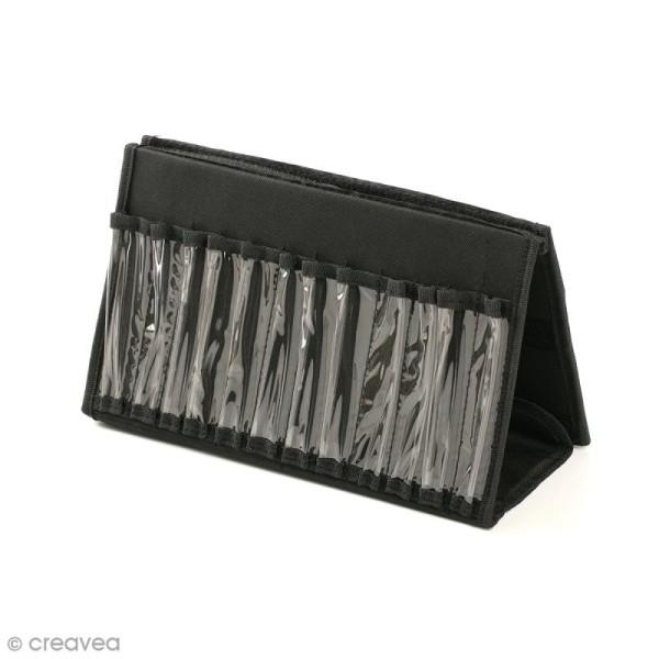 Trousse de rangement chevalet - Pour 24 marqueurs - 32 x 20 cm - Photo n°2