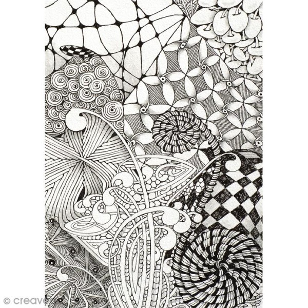 Kit Zentangle 10 pcs - Photo n°3