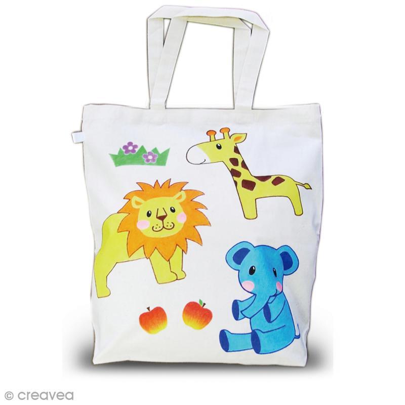 Assortiment de feutres textiles pour enfants - Boîte de 50 feutres - Photo n°3