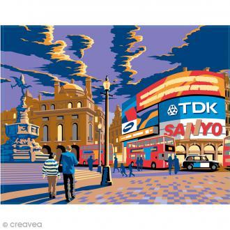 Peinture au numéro - Londres Piccadilly - 30 x 40 cm