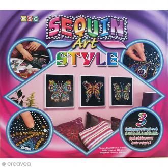 Kit Sequin Art Style Papillons