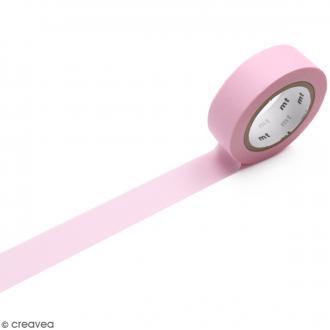 Masking Tape Pastel rose - 15 mm x 10 m