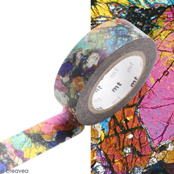 Masking Tape Phénocristaux multicolore - 15 mm x 10 m - Photo n°2