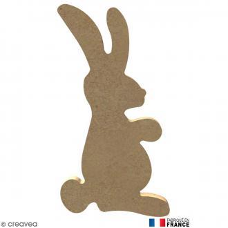 Lapin en Bois à décorer - 12,7 cm