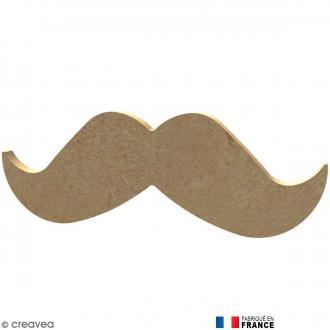 Moustaches en Bois à décorer - 13 cm