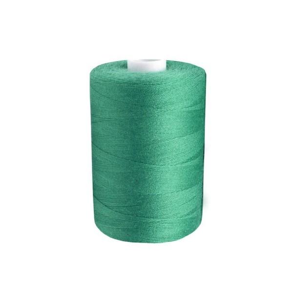 10pc 1138 Vert Turquoise Polyester Fil à Coudre Pes 40/2 James; 1000m Par Bobine de Fils, Mercerie, - Photo n°1