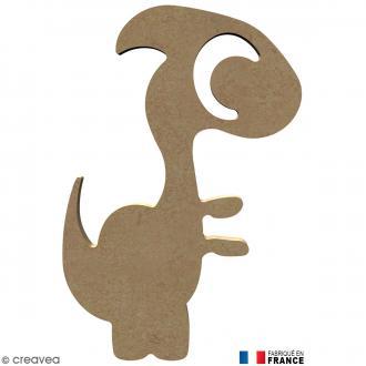 Dinosaure en Bois à décorer - 16 cm
