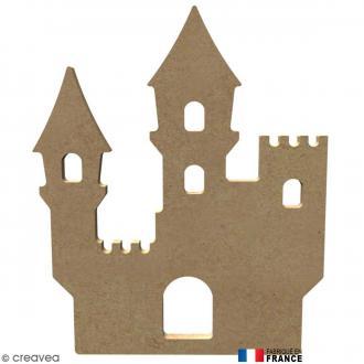 Château en Bois à décorer - 14,7 cm