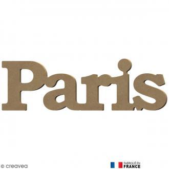 Mot Paris en Bois à décorer - 34 cm