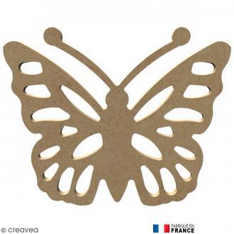 Papillon ajouré en Bois à décorer - 15 cm