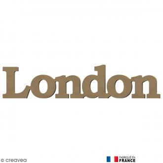 Mot London en Bois à décorer - 50 cm