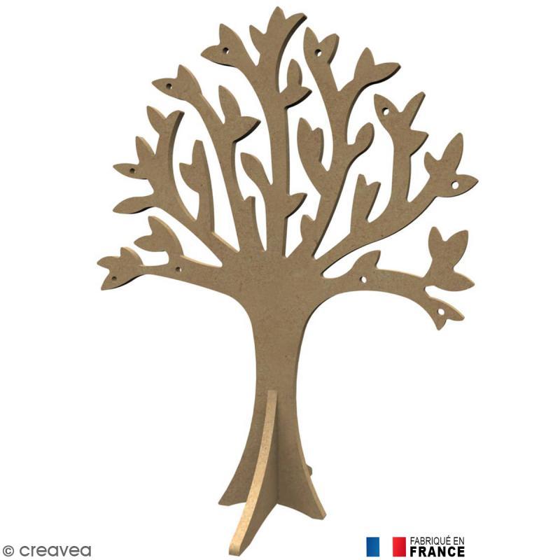 arbre en bois d corer 30 cm support d co nature creavea. Black Bedroom Furniture Sets. Home Design Ideas