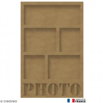Cadre Photo en Bois à décorer - 30 x 46 cm