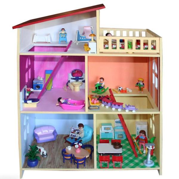 Kit Maison de poupée en Bois à décorer - Photo n°2