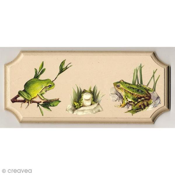 Plaque en bois - 16 x 10 cm - Photo n°3