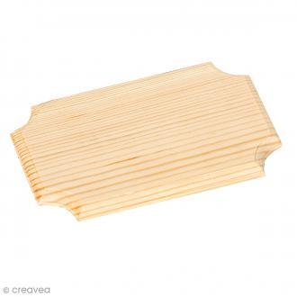 Plaque en bois - 16 x 10 cm