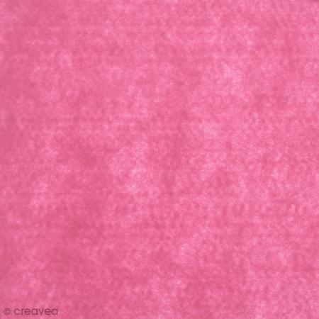 Feutrine épaisse 2 mm 30 x 30 cm Rose fluo - Artemio