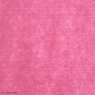 Feutrine épaisse 2 mm 30 x 30 cm Rose fluo