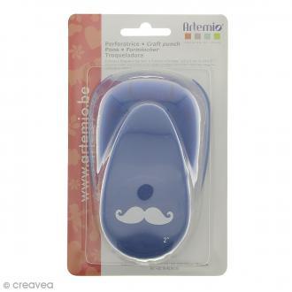 Perforatrice scrapbooking Moustache - 3,5 x 1 cm