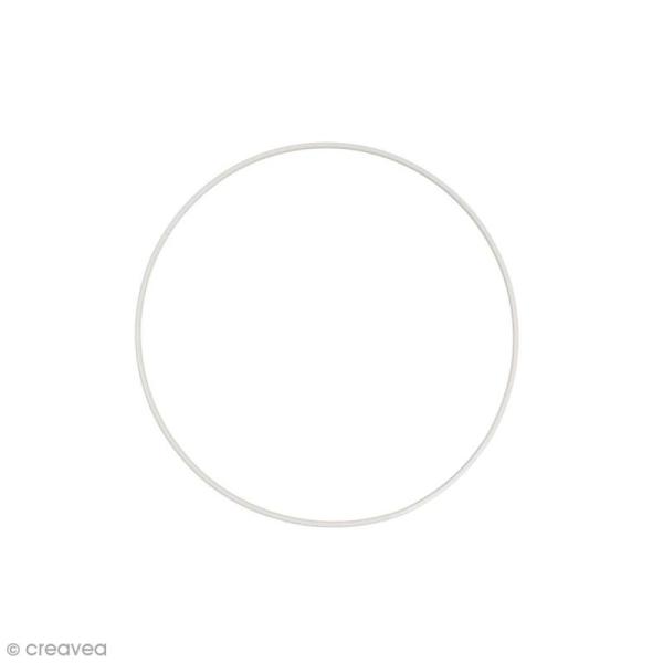 Cercle nu en métal - 18 cm de diamètre - Photo n°1