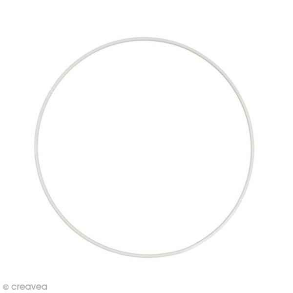 Cercle nu en métal - 28 cm de diamètre - Photo n°1