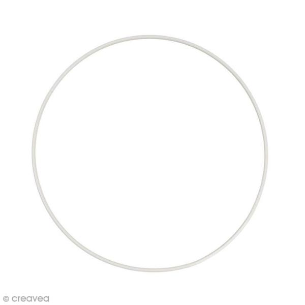 Cercle nu en métal - 30 cm de diamètre - Photo n°1