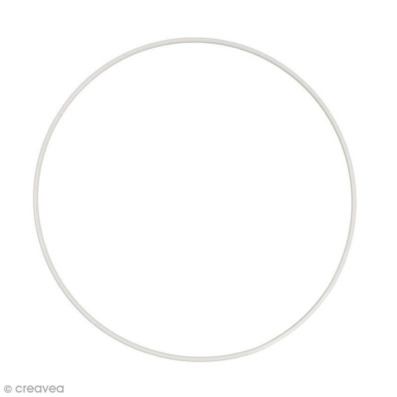 Cercle nu en métal - 35 cm de diamètre - Photo n°1