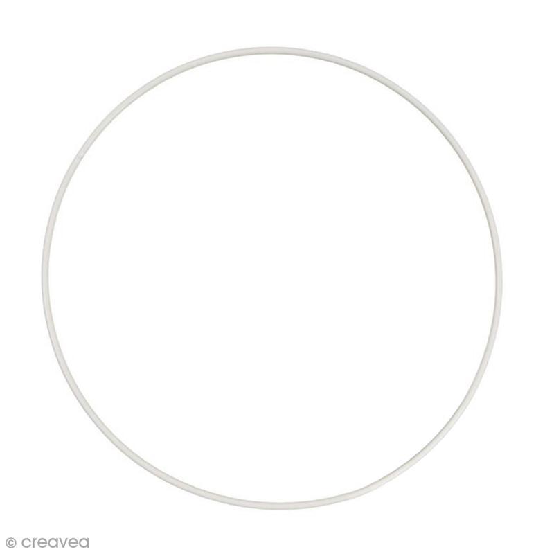 Cercle nu en métal - 40 cm de diamètre - Photo n°1
