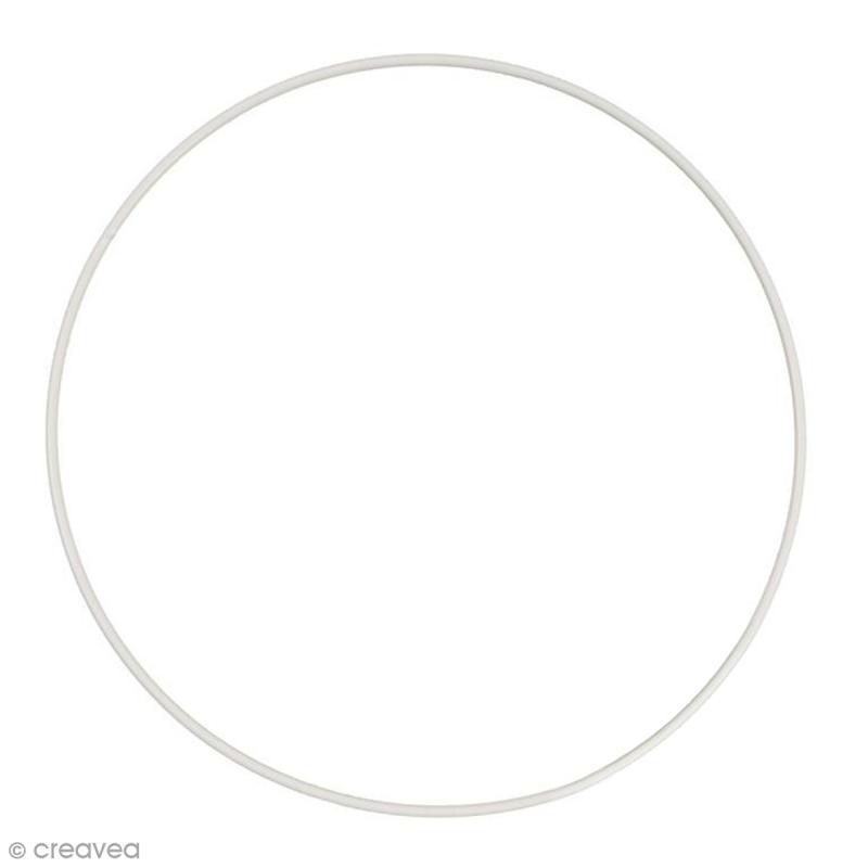 cercle nu en m tal 45 cm de diam tre cercle abat jour creavea. Black Bedroom Furniture Sets. Home Design Ideas