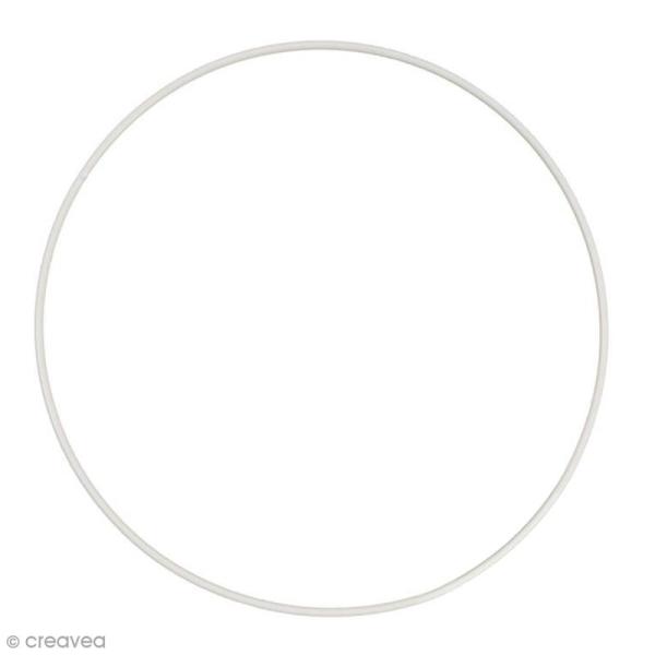 Cercle nu en métal - 45 cm de diamètre - Photo n°1
