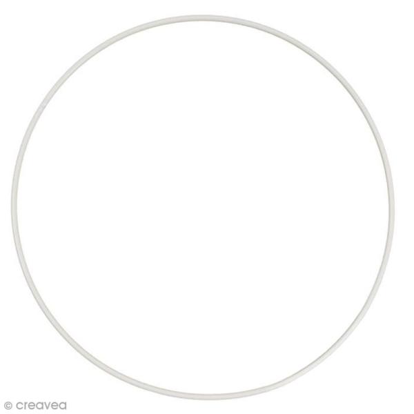 Cercle nu en métal - 50 cm de diamètre - Photo n°1