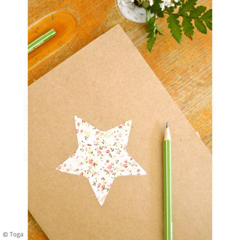 Carnet de recettes à décorer 18,5 x 13,5 cm - 160 pages - Photo n°4