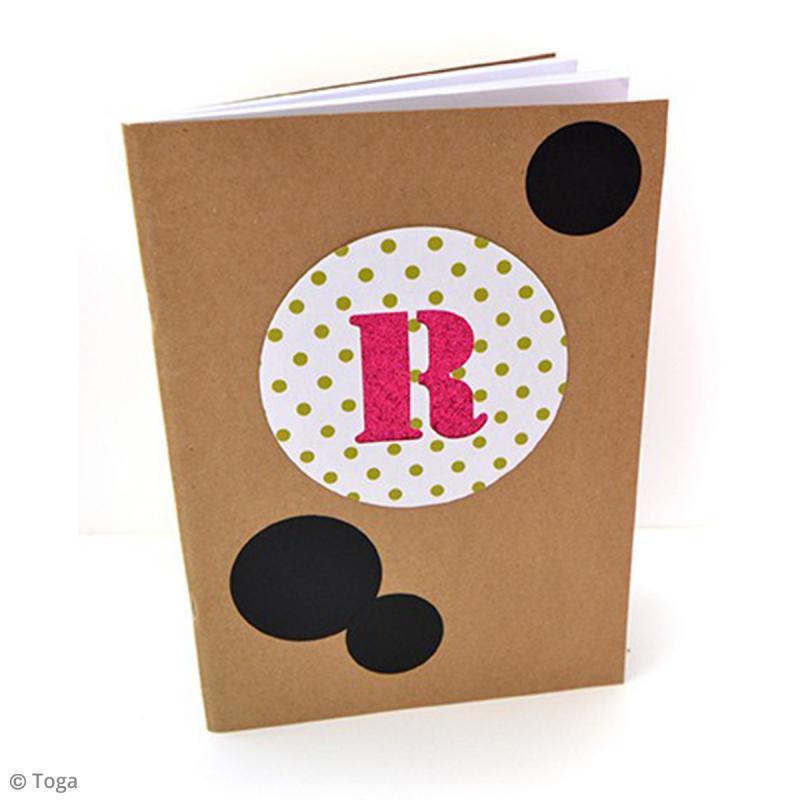 Carnet de recettes à décorer 18,5 x 13,5 cm - 160 pages - Photo n°5