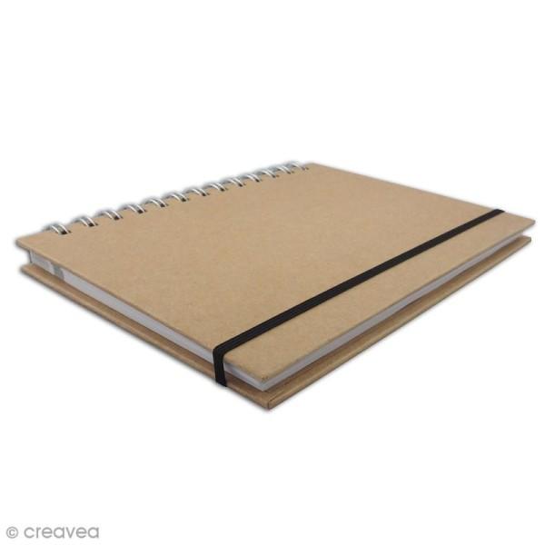 Carnet de recettes à décorer 18,5 x 13,5 cm - 160 pages - Photo n°2